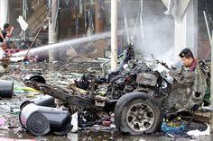 Atentados deixam ao menos 50 feridos em shopping na Tailândia