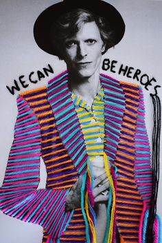 Embroidered cultural heroes – in pictures