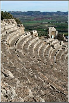 Roman ruins, Dougga, Tunisia | UNESCO World Heritage Site