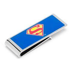 DC Comics  Cufflinks Inc Superman Money Clip (DC-SUP-MC)  Price: $44.95  #mens #gifts