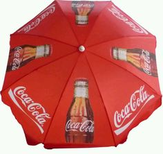 Coca Cola umbrella...
