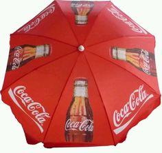 Coca Cola umbrella...