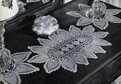 Pineapple Vanity Set Pattern
