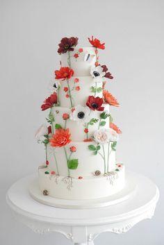 Wedding Cakes Sunshine Coast & Brisbane   Zoe Clark Cakes