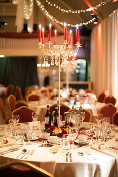 A fitting festive theme... For the rest of the photo shoot & blog, click here:   http://thebowdonrooms.co.uk/festive-wedding-bells-at-the-bowdon-rooms