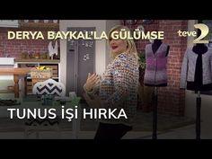 Derya Baykal'la Gülümse: Tunus işi hırka - YouTube Tunisian Crochet, Crochet Clothes, Cardigans For Women, Cross Stitch, Embroidery, Knitting, Youtube, Pattern, Handmade