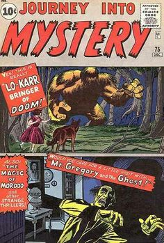 Journey Into Mystery # 75 by Jack Kirby & Dick Ayers