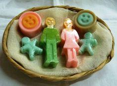 """Jaboncitos """"Familia Feliz"""" para un regalo, en su baño, siempre hay un lugar especial, para expresar que la familia junta y unida es feliz!!"""