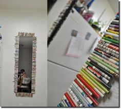 Totally going to do this for my daughter's room but with something feminine and pretty