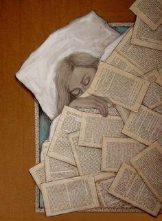 La lectura arropa mis sueños (autor desconocido)