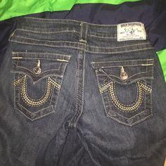 True religion boot cut jeans Dark boot cut true religion designer jeans True Religion Pants Boot Cut & Flare