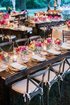 Featured Photographer: Marni Rothschild; wedding reception idea