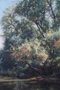 IAPS Twelfth Juried Exhibition Pastel Paintings, Deep Forest, Tree Art, Forests, Art World, Pastels, Arts And Crafts, My Arts, Trees