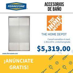 #AccesoriosDeBaño #Cancel #CristalTemplado http://www.ferrezone.mx  El mercado ferretero de México Anúnciate gratis