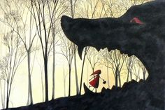 El viaje de Füjur: Ilustraciones: Caperucita roja