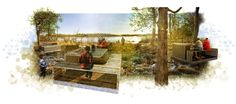 Seven lochs wetland park.