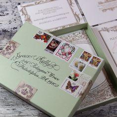 Wedding Invitation Box by BellaBaroqueDesign on Etsy, $3.50