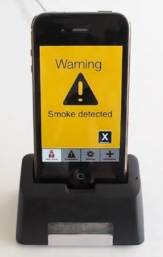 I must admit it would be pretty cool if i had a phone that detected smoke
