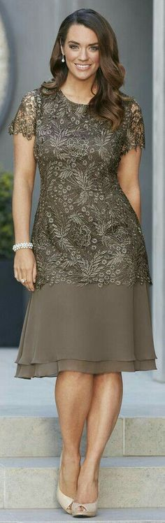 """[ """"Description: Exclusive Guipure Lace Top Half with a Layered Chiffon Bottom Half. Very Flattering Dress for Any Body Shape and Size. Colour: Bronze S"""", """"W F -- Special Occasion Dress 441"""", """"Special Occasion Dress - inspiration to have yours custom made to your…"""", """"Mother of the Bride?"""", """"next Memorial, maybe?"""" ] # # #Flattering #Dresses, # #Special #Occasion #Dresses, # #Lace #Tops, # #Wedding #Dress, # #Body #Shapes, # #Mother #Of #The #Bride,..."""