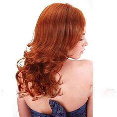 Merrylight Premium Quality / Light Auburn Wig with Cap