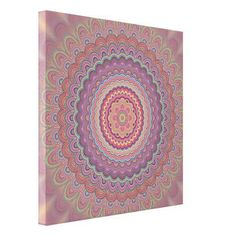 Decorate your walls with Mandala canvas prints from Zazzle! Choose from thousands of great wrapped canvas to beautify your home or office. Mandala Canvas, Mandala Print, Mandala Tattoo, Geometric Mandala, Wall Decor, Wall Art, Canvas Art Prints, Wrapped Canvas, Living Room Designs