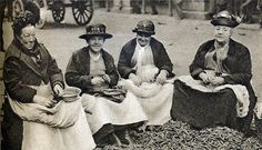 London in the 1920's: pea shellers