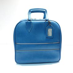 Blue Colonial No 7508 Bowling Bag Vintage by VintageCreekside