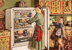 Housekeeping Monthly 1955 - Google Search check out these cabinets!