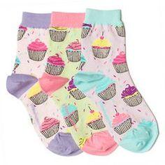Girls' Socks | Cupcake Smelly Ankle Socks