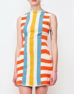 Lauren Moffatt Billie Jean Striped Dress