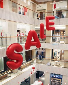 "TSUM DEPARTMENT STORE, Moscow, Russia, ""Dive into our Summer SALE"", pinned by Ton van der Veer"