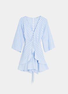 Vichy dress.