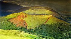 One of the chain of eighty volcanos of the Massif Central is Puy de Dome with its grassy slopes and romantic landscapes - the ideal place to go when looking for somewhere to camp in France.   Find out more about Puy de Dome and the area here: http://www.campsitesinfrance.co.uk/tourist-information/travel-articles/2012/05/24/hikes/walking/auvergne/puy-de-dome/-/best-family-campsites-near-puy-de-dome-volcano/10005