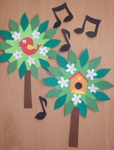 50 Ideas bird nest art project crafts for kids Easy Art Projects, Projects For Kids, Crafts For Kids, Arts And Crafts, Diy And Crafts, Bird Nest Craft, Bird Crafts, Easter Crafts, Nursing Home Crafts