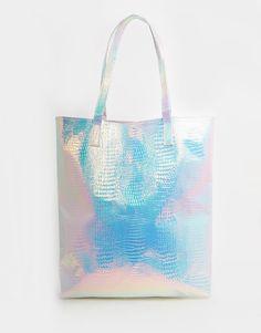 ASOS Hologram Shopper Beach Bag