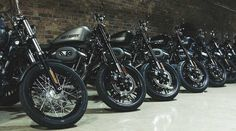 Tom Stewart battles rain and London gridlock on a diverse pair of Dark Custom Harleys Custom Harleys, Dark Side, The Darkest
