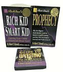 Lot of Kiyosaki Rich Poor Prophecy Rich Kid Smart Kid Guide Investing Audiobook FOR A BETTER ME Rich Kids, Audio Books, Investing, Wellness