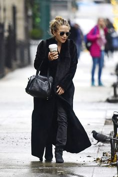 The Only Coat You Need This Winter, According to the Olsen Twins via @WhoWhatWear