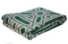 Alambra Emerald Eco Throw from Common Deer