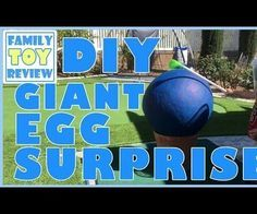How To Make Homemade Giant Surprise Eggs with Surprise Toys Inside with FamilyToyReview. This is our DIY Huge Easter Egg Surprise Pinata Craft Do It Yourself video. This is for parents who want to make a giant egg surprise for their children. Kids have been huge fans of kinder eggs, suprise eggs, surprise toys, and now big egg surprise videos. Now you can make one too using paper mache. This activity is great to do with your kids. You can do it for any occasion or prepare one for a birthday…