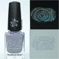 Amethyst Glow - Stamping Polish