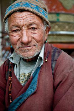 Ladakhi man  (Ladakh, India)