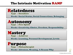 Understanding Intrinsic Motivation with RAMP - Gamification Co