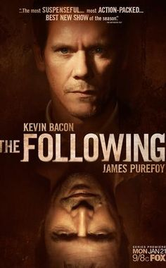 "The Following - my favorite show since ""Lost"" is no longer on. whaaaa!"