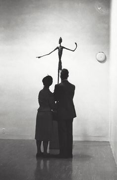 Kees Scherer The Pointing Man by Alberto Giacometti, Moma New York City 1959