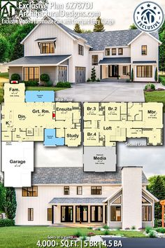 230 5 Bedroom House Plans Ideas House Plans Bedroom House Plans House Floor Plans