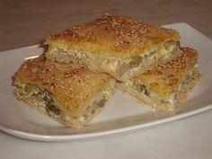 Authentic Greek Recipes: Greek Artichoke Pie (Agginaropita)