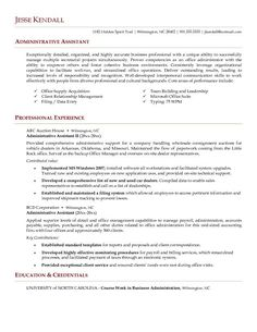 sample resume for administrative assistant office manager office assistant resume templates samples of resume objectives - Office Assistant Resume Template