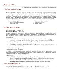 Administrative Assistant Resume Template   free resume examples     Administrative Assistant Resume Sample Resume Genius