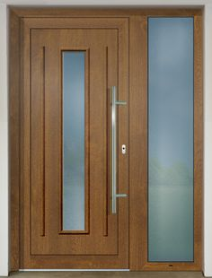 GAVA 151 Plastic doors: www. Modern Entry Door, Entry Doors, Front Doors, Door Design Interior, Main Door Design, Types Of Doors, House Entrance, Exterior Doors, Living Room Designs
